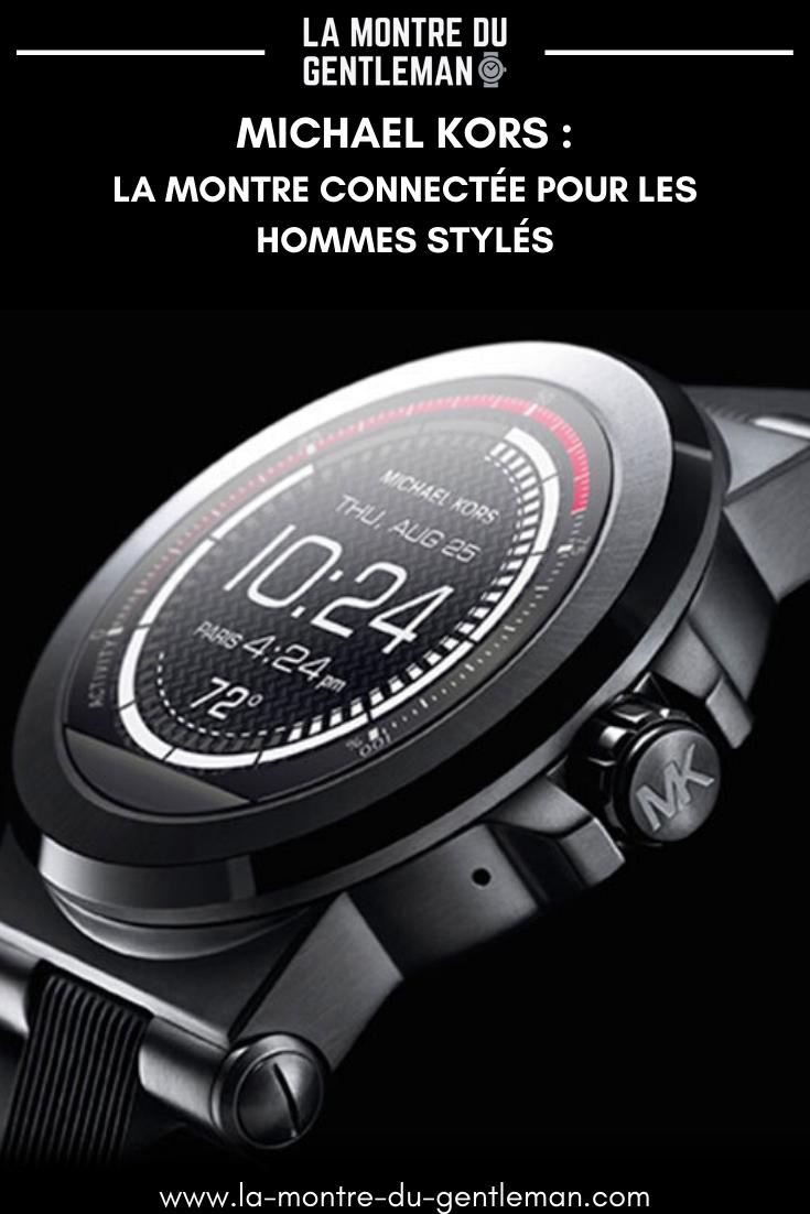 Mon avis sur la gamme de montres connectées Michael Kors, pour les hommes qui aiment le luxe facile à porter et qui cachent une âme de James Bond !