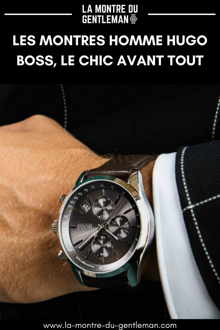 Comble du chic et de l'élégance, la montre pour homme Hugo Boss donnent de l'allure à votre tenue. Découvrez les modèles qui cartonnent et plus encore.