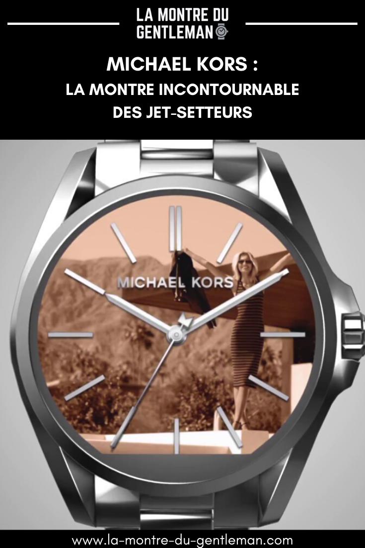 Montre homme Michael Kors : le panache d'une griffe de couturier. Pour toutes les occasions et tous les looks. Un cadeau bijou.