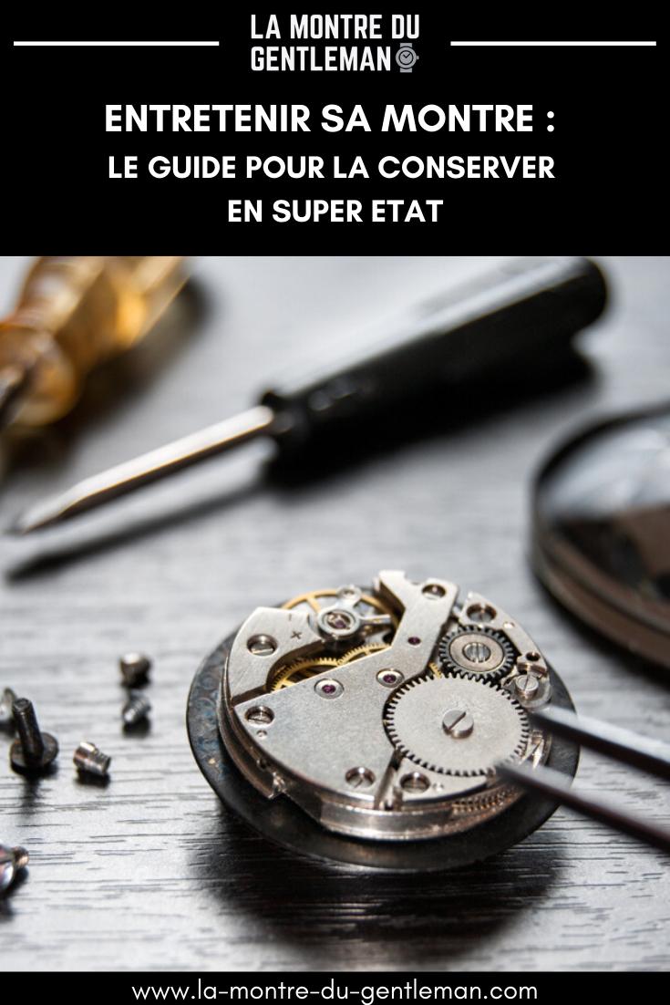 Savez-vous quoi faire pour que votre montre dure longtemps ? Le Guide vous dit comment la préserver, la nettoyer de fond en comble, la stocker.